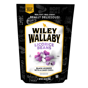 Wiley Wallaby Black Licorice Beans