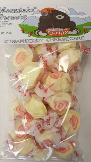 Mtn Sweets Taffy Bags-Strawberry Cheesecake