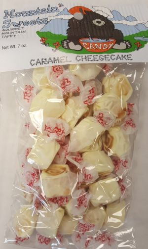 Mtn Sweets Taffy Bags-Caramel Cheesecake