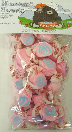 Mtn Sweets Taffy Bags-Cotton Candy
