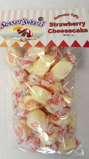 S.S. Sweets Taffy Bags-Stawberry Cheesecake