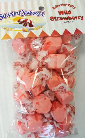 S.S. Sweets Taffy Bags-Wild Strawberry