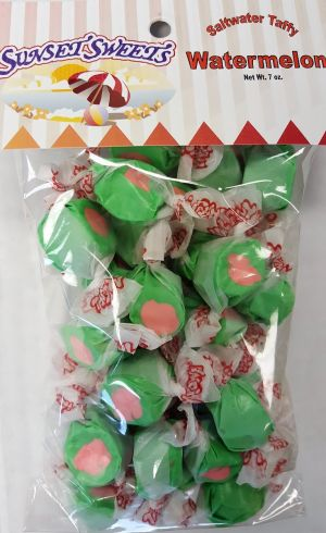 S.S. Sweets Taffy Bags-Watermelon