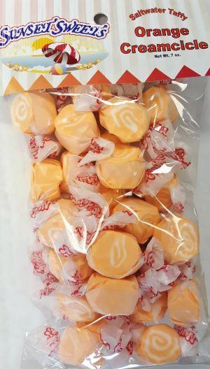 S.S. Sweets Taffy Bags-Orange Creamcicle