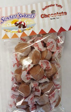 S.S. Sweets Taffy Bags-Chocolate
