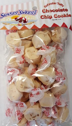 S.S. Sweets Taffy Bags-Chocolate Chip Cookie