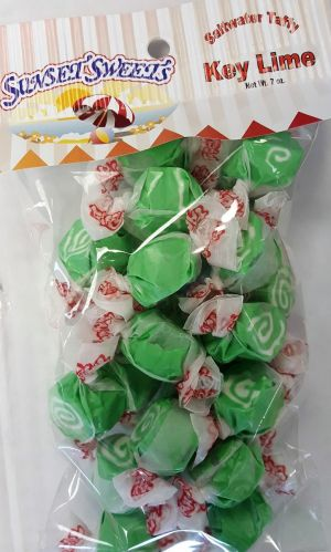 S.S. Sweets Taffy Bags-Key Lime
