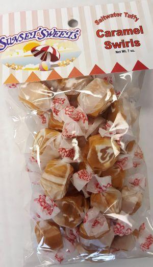 S.S. Sweets Taffy Bags-Caramel Swirl