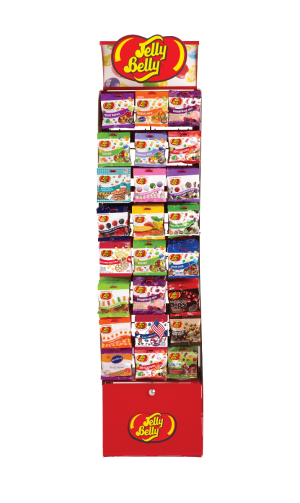 Display-Jelly Belly Curve Display