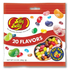 Jelly Belly-20 Flavor Assorted Jelly Belly Bags