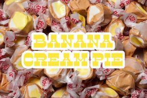 Bulk Taffy Kisses-Banana Creme Pie