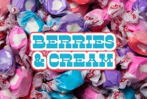 Bulk Taffy Kisses-Fresh Berries and Cream