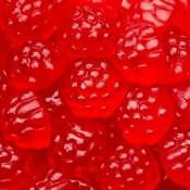 Bulk Berry Red Gummi Raspberries