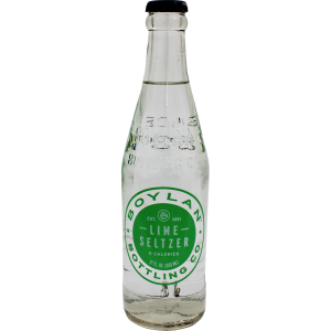 Old Fashioned Soda-Boylan Lime Seltzer