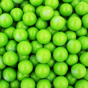 Bulk Green Apple Gumballs