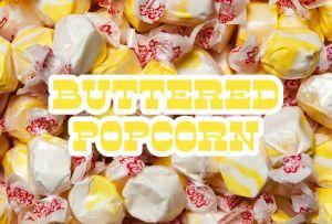 Bulk Taffy Kisses-Buttered Popcorn