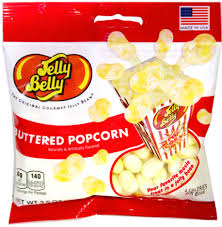 Jelly Belly-Buttered Popcorn Jelly Belly Bags
