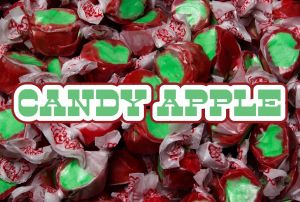 Bulk Taffy Kisses-Candy Apple
