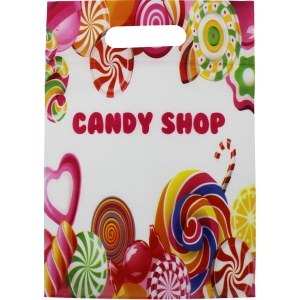 Candy Shop Zip Top Bag