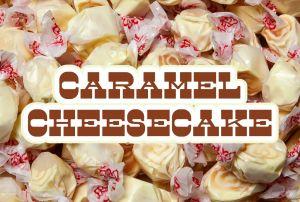 Bulk Taffy Kisses-Caramel Cheesecake