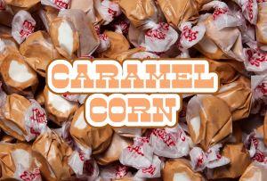 Bulk Taffy Kisses-Caramel Corn