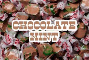 Bulk Taffy Kisses-Chocolate Mint