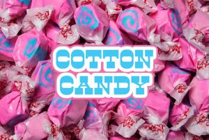 Bulk Taffy Kisses-Cotton Candy