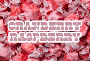 Bulk Taffy Kisses-Cran Raspberry