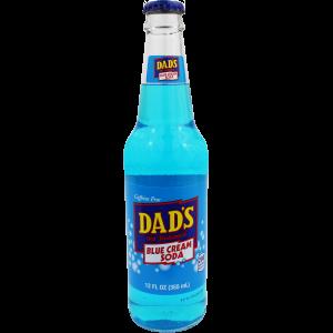 Old Fashioned Soda-Dad's Blue Cream Soda