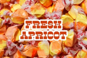 Bulk Taffy Kisses-Fresh Apricot