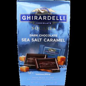 Ghirardelli Bags Dark Chocolate Sea Salt Caramel