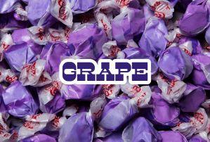 Bulk Taffy Kisses-Grape