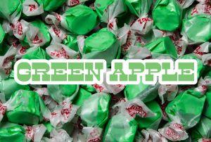 Bulk Taffy Kisses-Green Apple