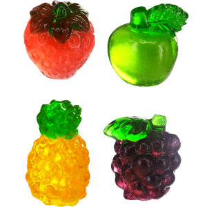 Bulk 4D Gummy Fruit Mix