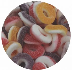 Bulk Gummy Assorted Sour Rings