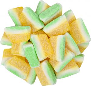Bulk Gummy Pina Colada Slices