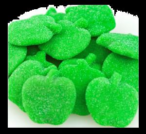 Bulk Gummy Sour Green Apples