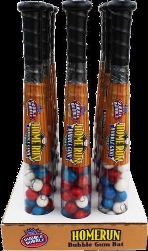 Home Run Bubble Gum Bat