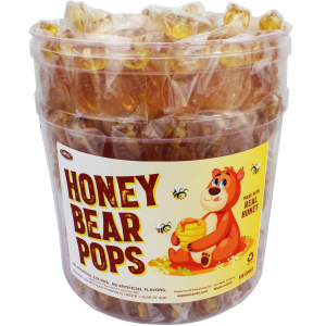 Honey Bear Pops
