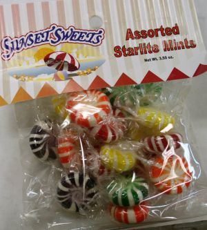 S.S. Hanging Bag-Assorted Starlight Mints