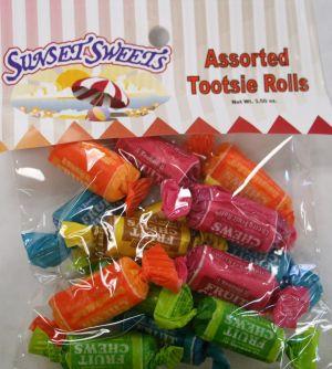 S.S. Hanging Bag-Assorted Tootsie Rolls
