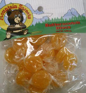 Mtn Hanging Bag-Butterscotch Discs