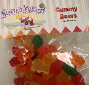 S.S. Hanging Bag-Gummy Bears
