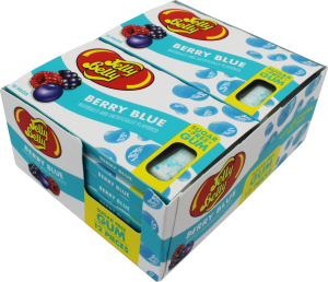 Jelly Belly Gum-Berry Blue