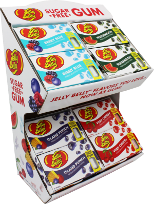 Jelly Belly Gum Display