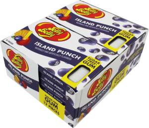 Jelly Belly Gum-Island Punch