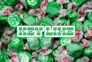 Bulk Taffy Kisses-Key Lime