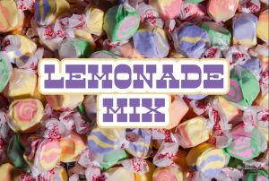 Bulk Taffy Kisses-Lemonade Mix