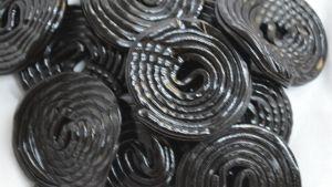 Bulk Black Licorice Wheels
