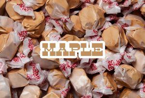 Bulk Taffy Kisses-Maple
